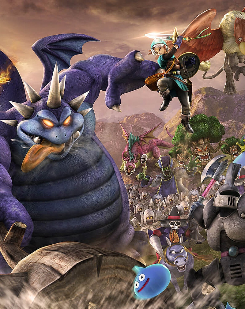 dq - Dragon Quest Heroes: The World Tree's Woe and the Blight Below