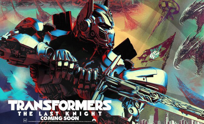 Optimus Prime Fights New Villains in 'Transformers: The Last Knight' Poster 3