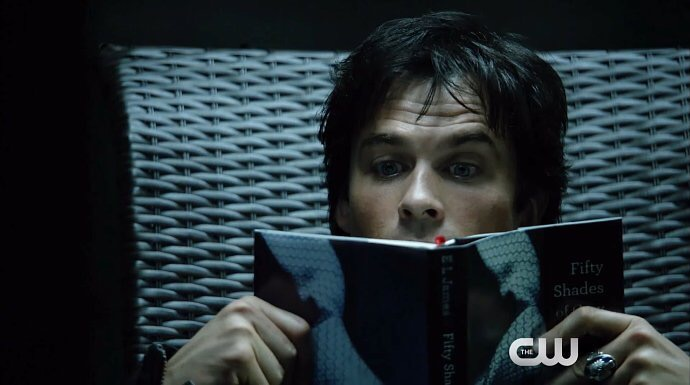 Damon's Into 'Fifty Shades of Grey' in New 'The Vampire Diaries' Final Season Promo 5