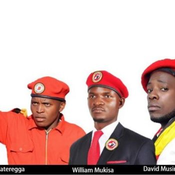 Makerere Guild Race, Candidates In 'People Power' Band-wagon.