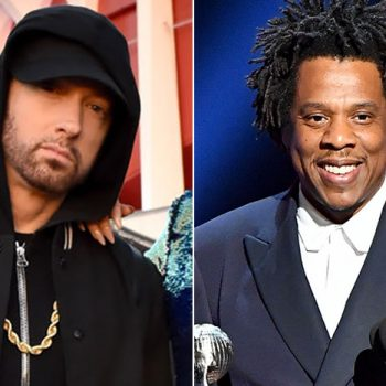 Eminem Ties With Jay-Z On The Billboard HOT100 Top 10 Hits Record.