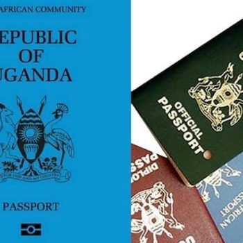 Costs Of East African Passports Unveiled.