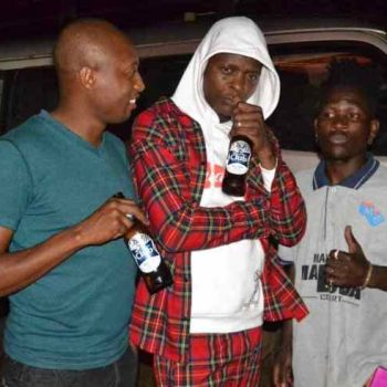 Jose Chameleone Hits Photographer-Usher Roberts With A Beer Bottle.