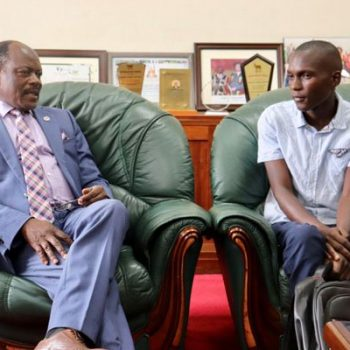 Henry Suubi Gets Full Scholarship To Study His Dream Engineering Course.