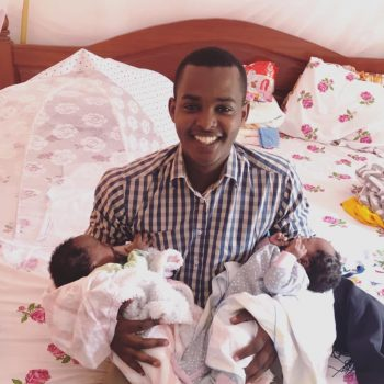 Canary Mugume: I Am Not The Father Of These Twins. They Are My Friend's.