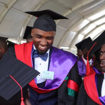 Rema Namakula's Dream Man Hamza Ssebunya Finally Graduates With A Degree In Medicine and Surgery From Makerere University.