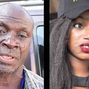 UPDF Lieutenant Swalich Nyakana Requests Confused Sheebah For A DNA Test To Prove He's Her Biological Father.