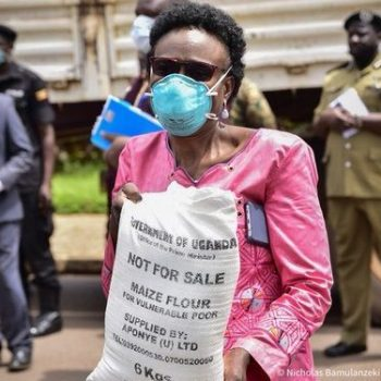 Government Starts Relief Food Distribution To Vulnerable People In Kampala Starting With Bwaise.