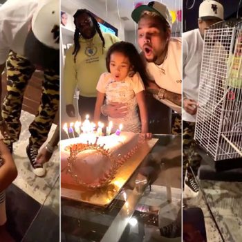 Chris Brown's Daughter Royalty Turns 6 Years Old With A Big Birthday Surprise Party From Her Daddy.