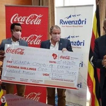 Coca-Cola Beverages Africa Donates Ugx 1.3 Billion Towards COVID-19 Relief Efforts In Uganda.