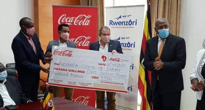 Coca-Cola Beverages Africa Donates Ugx 1.3 Billion Towards COVID-19 Relief Efforts In Uganda. 6