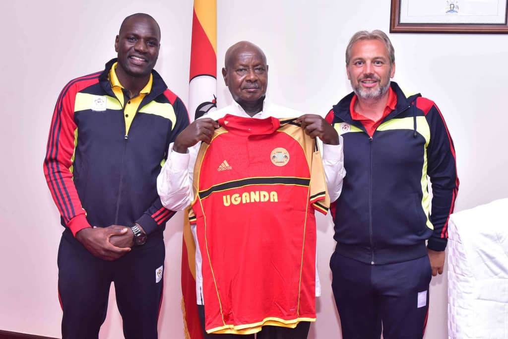 """foot - """"President Museveni Please Give Us The $1M You Promised Us, We Are Tired Of Waiting."""" Uganda Cranes Players Cry Out."""