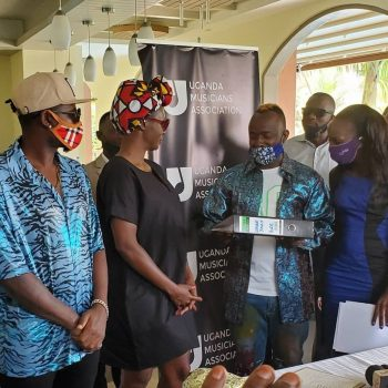 Ykee Benda And Cindy Sanyu Officially Sworn In As UMA President And Vice President.