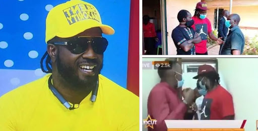 bebeb - Ugandans Troll Bebe Cool And NBS TV's Kaiyz After They Were Chased From The Nigeria Embassy Like Chicken Thieves.
