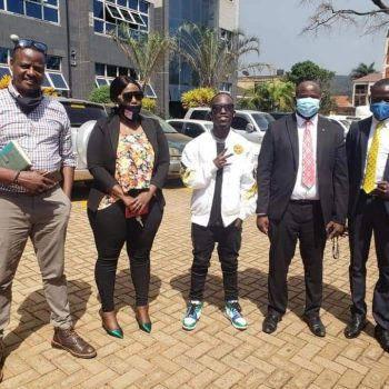 UCC And MoH Agree To Pay Musician Eezzy In Order To Make A Better Version Of His 'Tumbiza Sound' Song That Encourages Ugandans To Genuinely Follow Covid-19 SOPs.