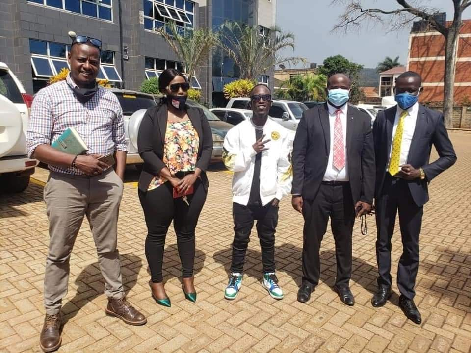 eezz - UCC And MoH Agree To Pay Musician Eezzy In Order To Make A Better Version Of His 'Tumbiza Sound' Song That Encourages Ugandans To Genuinely Follow Covid-19 SOPs.