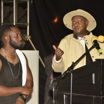 President Museveni: Stop Ruining My Name Distributing NRM T-Shirts While Kneeling And Begging People To Accept Them.