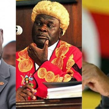 """""""Stop Intimidating, Blackmailing And Attacking Judges. If You Don't Trust Us, Then Why Did You Come To Court? Chief Justice Owiny-Dollo Warns Bobi Wine."""