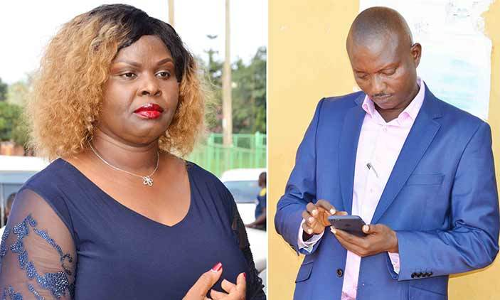 "Bugingo and wife Naluswa - ""I'm Your Wife Forever, Till Death Do Us Apart! I Will Never Sign Your Hopeless Divorce Papers."" Teddy Bugingo Rebukes Her Husband Pastor Bugingo."