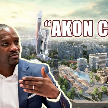 Akon To Build 'Akon City' In Uganda With Universities, Hospitals, Cable Cars And Banks Using Cryptocurrency By 2036.