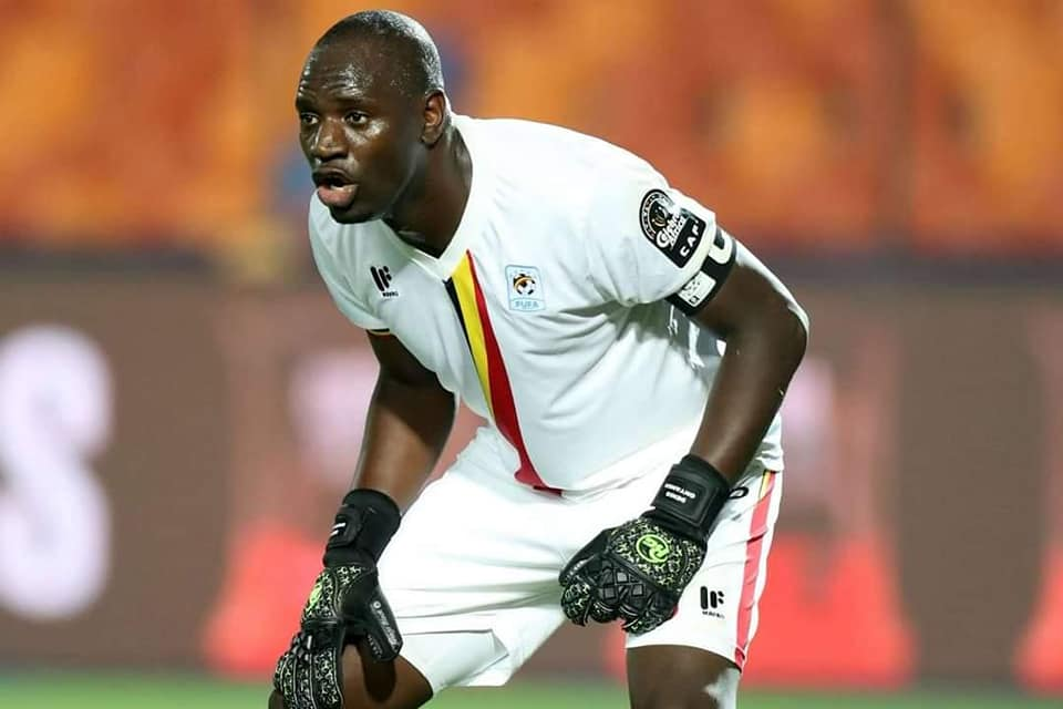 denis - Denis Onyango Captain Retires From Uganda Cranes, Following His Altercation With FUFA President Moses Magogo.
