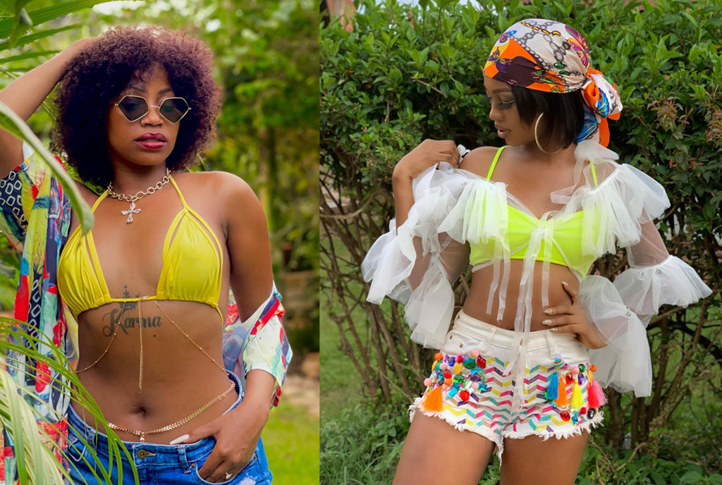 hh - Spice Diana And Sheebah Battle It Out For The Record Of First Ugandan Female Artist To Hit Over One Million Followers On Instagram.