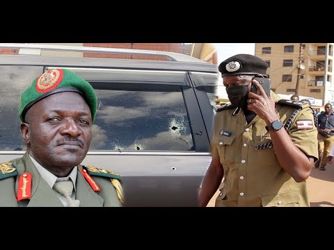 kt - Gen. Katumba Wamala Narrowly Escapes Death, His Bodyguard And Daughter Killed On Spot.