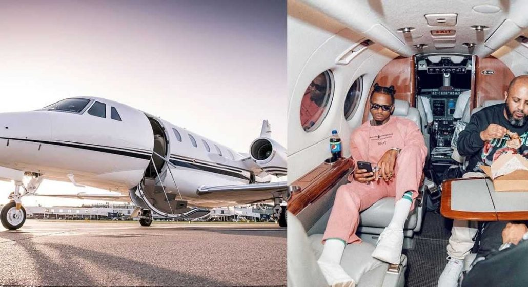plat 1030x560 - Flashy Diamond Platnumz Hits About Flying To South Africa To Buy His Own Private Jet, Just Days After Buying A Rolls Royce.
