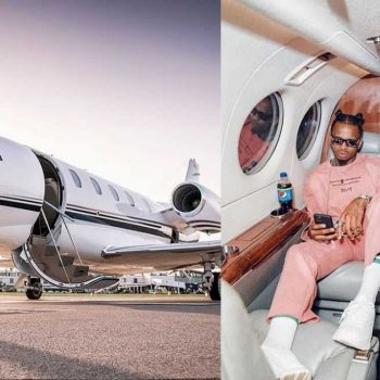 Flashy Diamond Platnumz Hits About Flying To South Africa To Buy His Own Private Jet, Just Days After Buying A Rolls Royce.