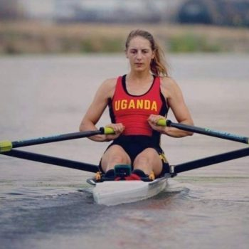 Kathleen Noble Becomes The First Ugandan To Ever Qualify For Rowing At The Olympics In The Single Scull Category.